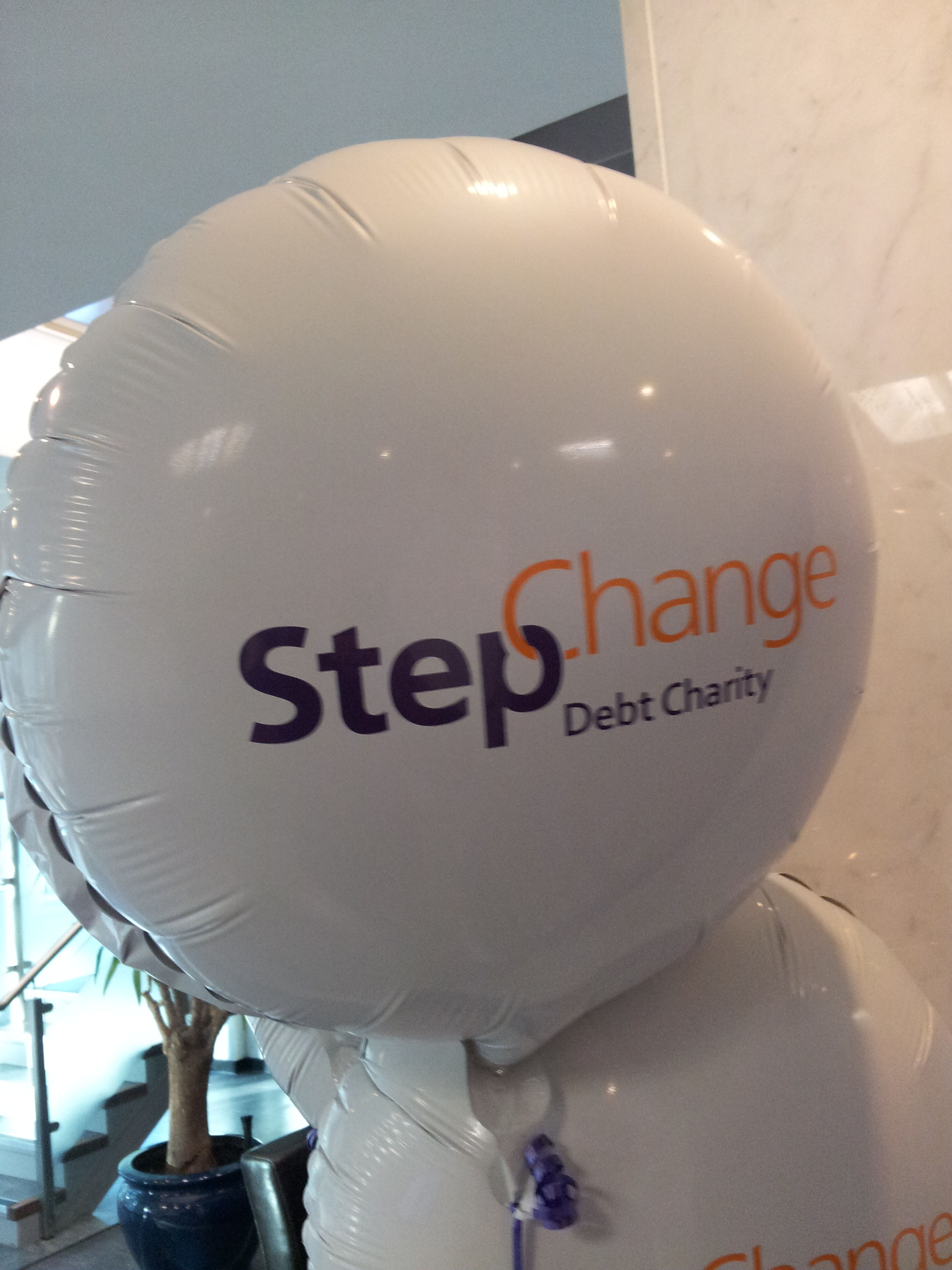 StepChange balloon