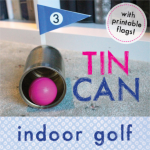 Tin can golf