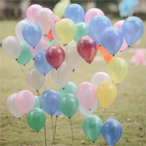 balloons outside