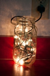 Fairy lights lamp