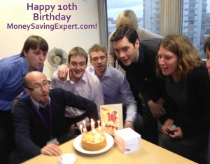 Happy 10th birthday moneysavingexpert.com