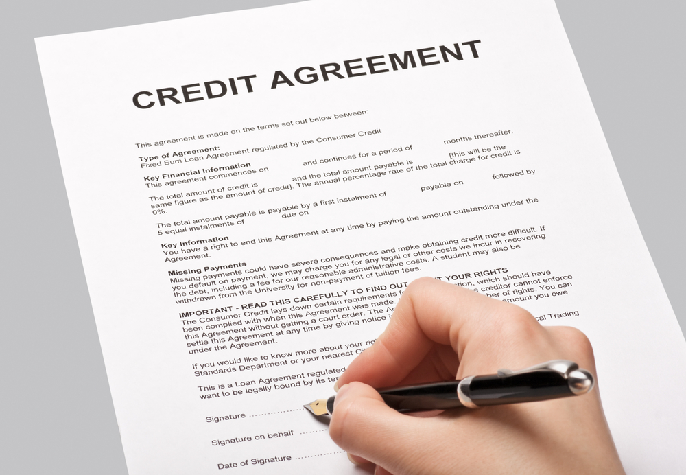 Hp Or A Credit Agreement  That Is The Question