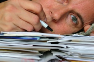 Don't get overwhelmed by paperwork!